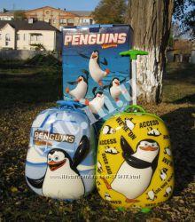 Качественный детский чемодан Пингвины. Новинки