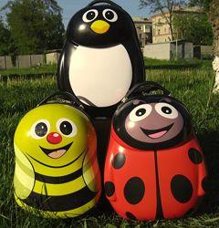Детские чемоданы в ассортименте - Пчелка, Божья коровка, Лев, Тигр, Пингвин