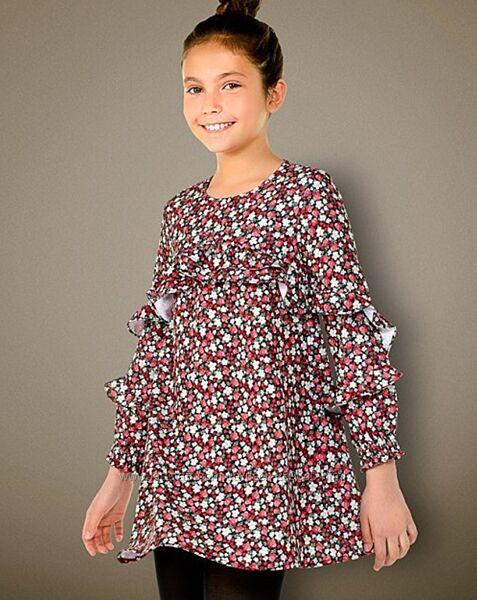 Легкое платье Mayoral на рост 157 см на 14 лет