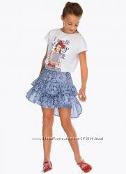 Продам кружевные юбки Mayoral на рост 140 см и 152 см
