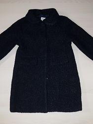 Продам пальто темно-синие Mayoral на рост 128 см на 8 лет