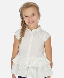 Блузка блуза от Mayoral на рост 128 и 140 см