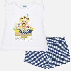 Комплект комплект Mayoral футболка, шорты на 110, 116, 122, 128, 134 см