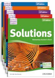 Solutions и другие учебники английского для школ