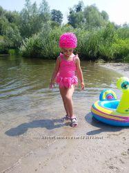 Купальник и шапочка GYMBOREE, на 3-5 лет
