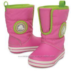 Сапожки Crocs - CrocsLights Gust Boot PS, C10