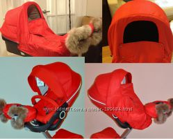 Stokke Winter Kit - зимний утепленный текстиль на коляску