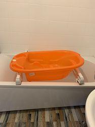 Продам ванночку Ок baby с держателями для ванны.
