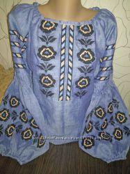 Красивые оригинальные вышиванки в стиле бохо