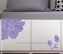 Декоративные наклейки на мебель