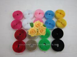 Липучка или велкро лента разных цветов