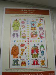 Набор для вышивания Bothy Threads XHS3 Four Outfits