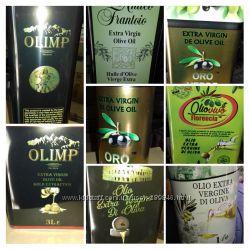 масло оливковое 1л 3л 5л италия греция испания
