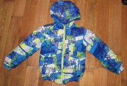 Стильная двухсторонняя куртка на рост 98-104 см