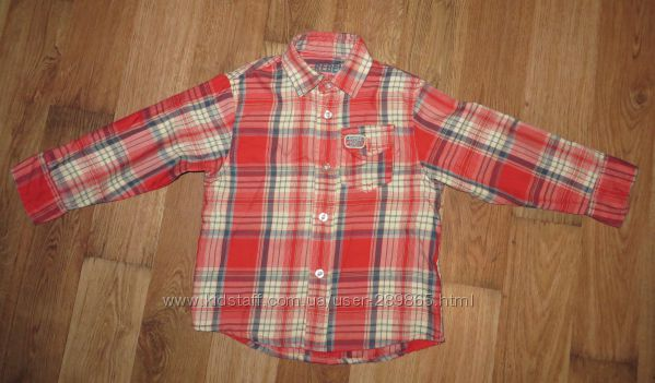 Рубашка Rebel на рост 104