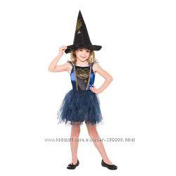 Карнавальное платье Ведьмочки Англия 5-6 лет