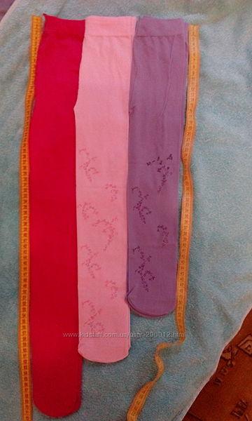 Капроновые нарядные колготки разные размеры