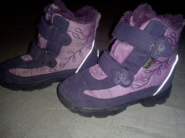 Теплые ботиночки сапожки 25р VIKING