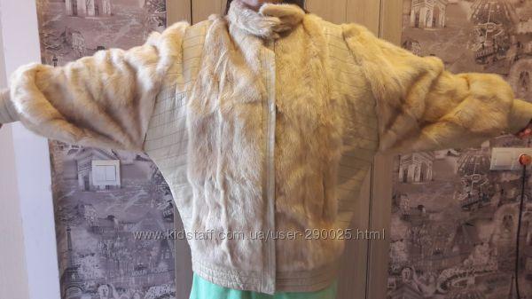 Шубка куртка норка, Италия