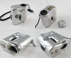Мини микроскоп для полиграфии дизайнеров и ювелиров 60Х кратный