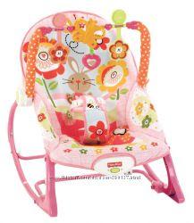 Низкая цена - Кресло-качалка Банни Fisher-Price - Оригинал