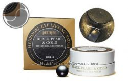 Гидрогелевые патчи PETITFEE 60 шт Black Pearl and Gold Hydrogel Eye
