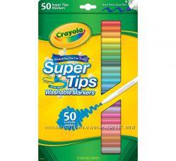 Набор фломастеров Crayola- смывающихся 50шт