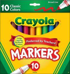 Маркеры 10 Crayola