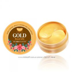 Гидрогелевые патчи Koelf gold   с золотом и маточным молочком