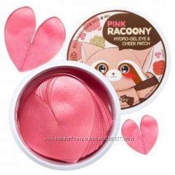 Патчи для глаз и щек Secret Key Pink Racoony