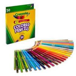 Набор цветных карандашей Crayola 50 шт