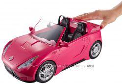Блестящий кабриолет для кукол Barbie