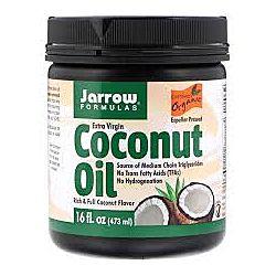 Кокосовое масло холодного отжима, 473 г Jarrow Formulas