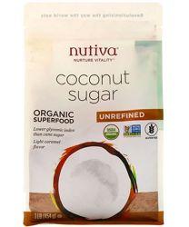 Nutiva, Органический кокосовый сахар, 454 гр