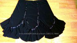 Классная новая оригинальная черная юбка на любой случай