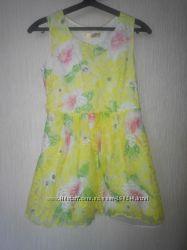 Красивое воздушное платье пышное